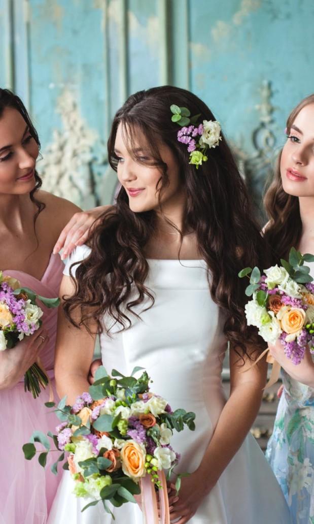 WEDDING DAY HAIRDRESSING