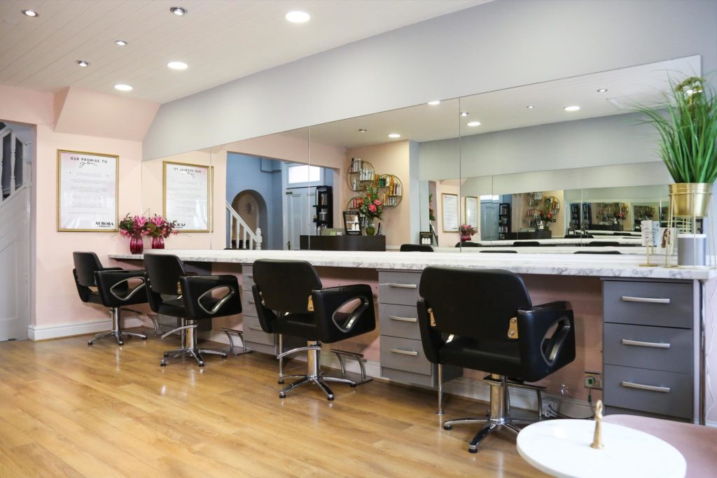 Aurora Hair Salon in Northampton