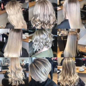 BALAYAGE AND BLONDE HAIR COLOURS, AURORA HAIRDRESSING, NORTHAMPTON