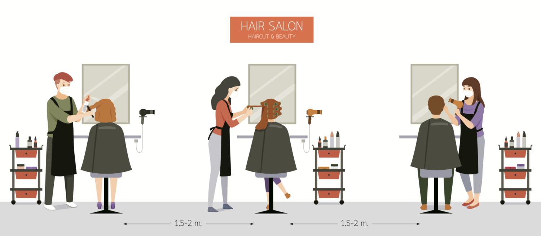 Covid Safety Arrangement Aururoa Hair Salon Northampton