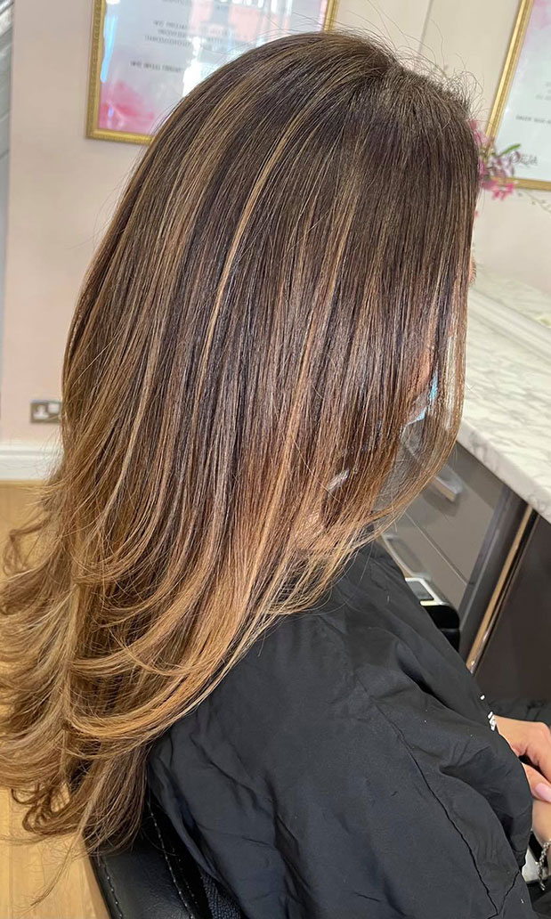Balayage and ombré hair colour Northampton