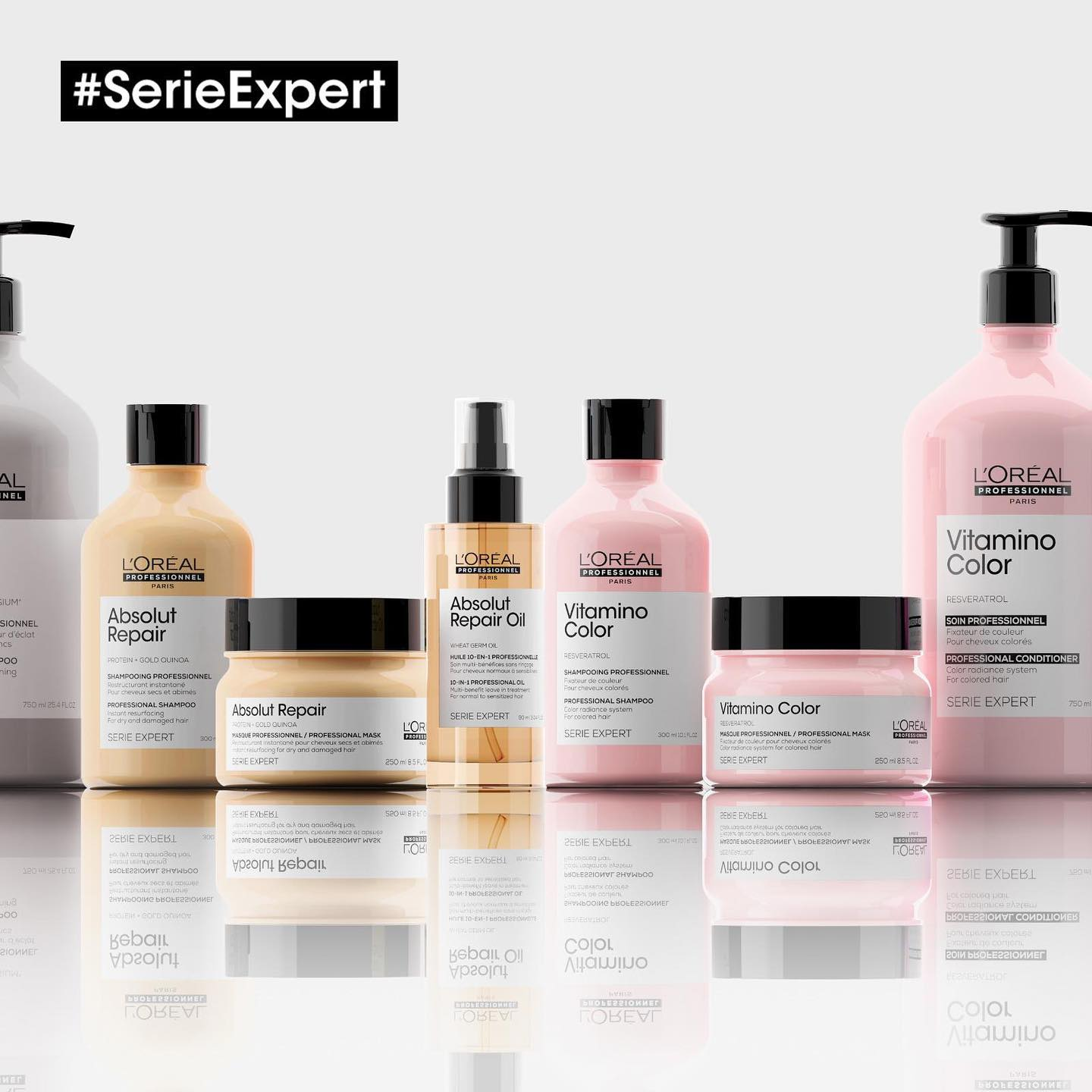NEW L'Oreal Serie Expert Hair Care Products