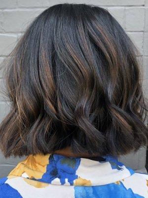 brunette hair colour, Aurora Hairdressing Salon, Northampton