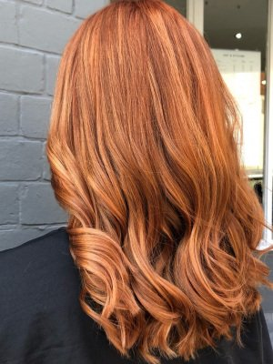 Red Hair aurora-hairdressing-northampton