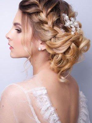 Wedding Hair at Aurora Hairdressing Salon in Northampton